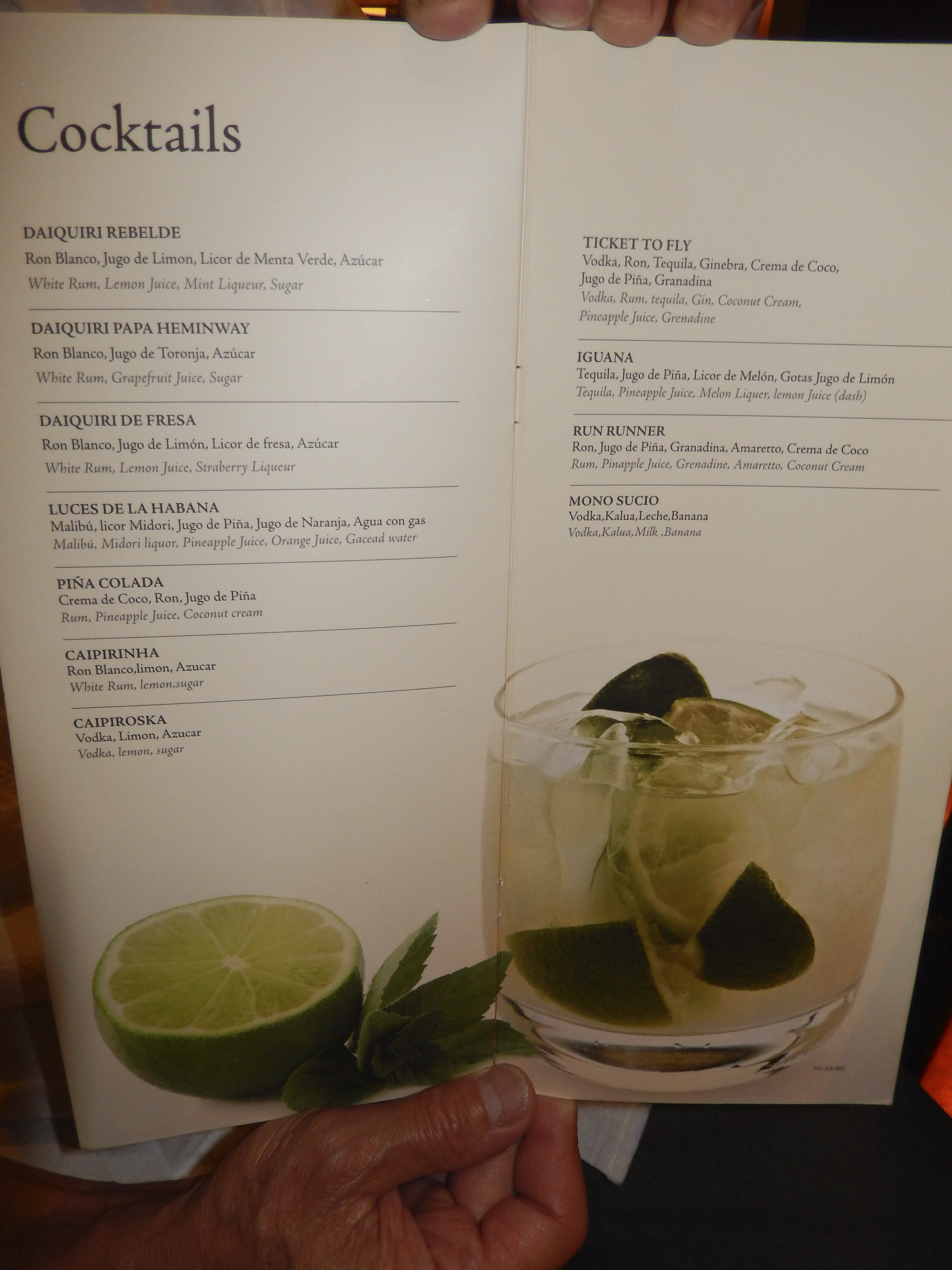 Image Result For Excellence Club Room Service Menu